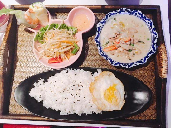 Chic Thai 泰式新定食:噓!不要告訴男友的一個人泰菜約會♥